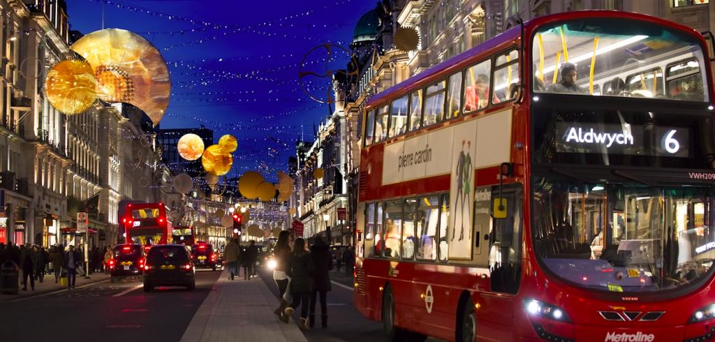 Kerstmis in Londen