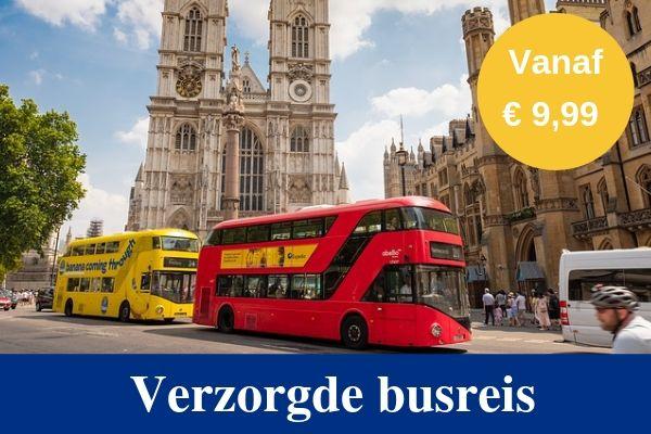 Verzorgde busreis Londen